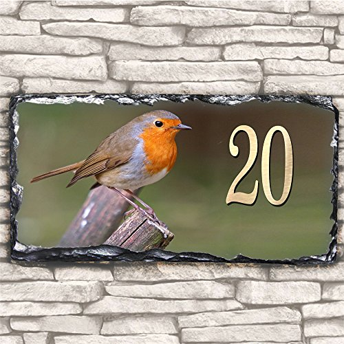 custom-red-robin-sl81b-house-slate-name-number-personalised-gift-sign-plaque-30cmx15cm