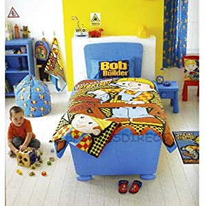 Amazon.com - BOB THE BUILDER KIDS BOYS REVERSIBLE SINGLE