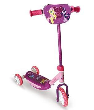 My Little Pony - OMLP110 - Vélo et Véhicule pour Enfant - Trottinette - 3 Roues avec Board
