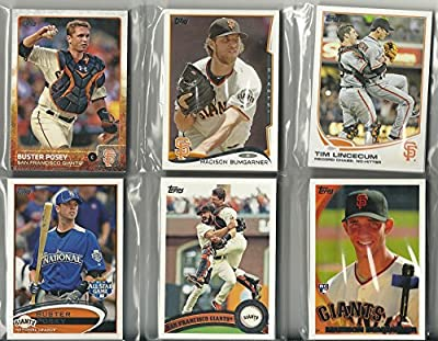 2010, 2011, 2012, 2013, 2014, 2015 Topps Series 1 2 W/Update San Francisco Giants Team Set 6 Set Lot