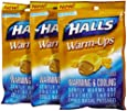 Halls Warm-Ups Butter Scotch Drops, 20 ct
