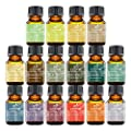 Art Naturals 100% Pure Essential Oils - Peppermint, Tee Tree, Rosemary, Orange, Lemongrass, Lavender, Eucalyptus, Frankincense, Patchouli, Pine Tree, Lime, Grapefruit, Cinnamon, Bergamot & Tangerine
