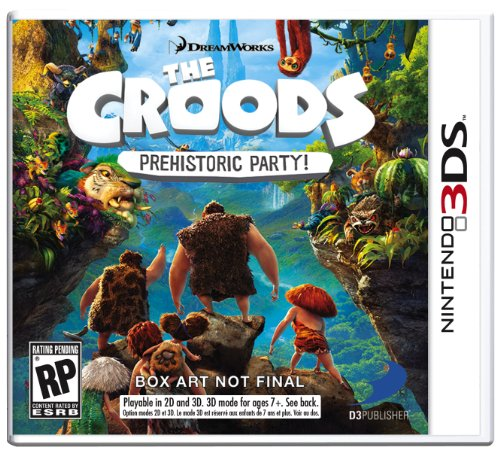 61BexYEjGmL Buy  The Croods: Prehistoric Party!