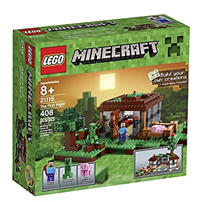 2X LEGO Minecraft 21115 The First Night