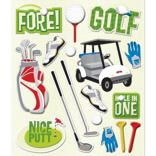 K&Company Golf Sticker Medley