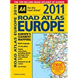 Road Atlas Europe 2011 (AA Atlases and Maps)by AA Publishing