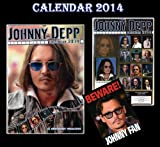 JOHNNY DEPP 2014 CALENDAR BY DREAM + FREE JOHNNY DEPP DOOR SIGN