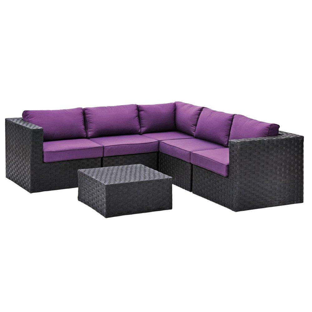 Belardo Lounge-Set Diamina 6-teilig inkl. Sitz- und Rückenkissen online kaufen