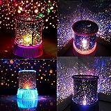 #6: ASkyl LED Star Modes USB Intelligent Night Light Star Projector Lamp LED Lamps Decoration Light Kids Bedroom Desk Lamp by ASkyl