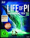 DVD - Life of Pi - Schiffbruch mit Tiger 3D [Blu-ray 3D] [Collector's Edition]