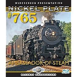 American Trains-Nickel Plate 765-Ambassador of Steam [Blu-ray]