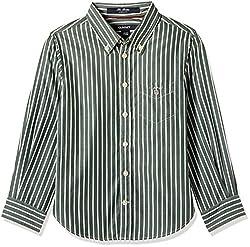 Gant Boys' Shirt (GBSEF0001_Bottle Green_XS)
