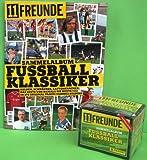 Panini 11 Freunde Fussball Klassiker Sammelsticker Display + Leeralbum