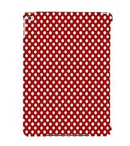 EPICCASE cute dots Mobile Back Case Cover For Apple Ipad 6 (Designer Case)