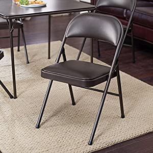 Amazon Com Meco Sudden Comfort Padded Folding Chair 2