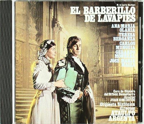El Barberillo de Lavapies (Berganza) -  Luis Mariano de Larra - CD