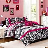 Mizone Reagan Comforter Set - Pink - Full/Queen