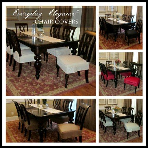 ViveVita Everyday Elegance Dining Chair Cover Simply  : 61BgCF0SdWL from www.bta-mall.com size 500 x 500 jpeg 65kB