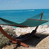 Caribbean Jumbo Hammock By Beachside Hammocks - Green