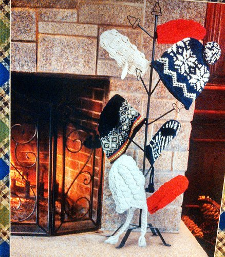 Hat And Mitten Tree - Fireplace - Dryer - Warmer