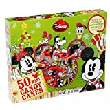 Disney Mickey Mouse Clubhouse Christmas Mini Candy Canes: 50-Piece Box