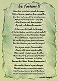 Un Poème à offrir à un Facteur (Vert)