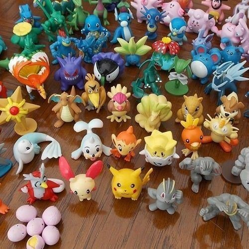 Generic Wholesale Lots Cute Pokemon Mini Random Pearl Figures (24 Piece)