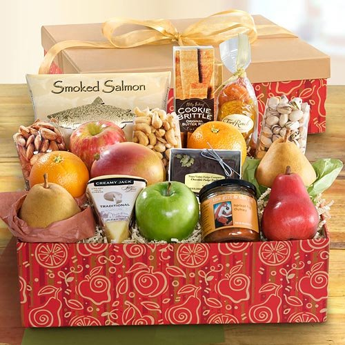 California Harvest Grand Fruit and Gourmet Gift Box