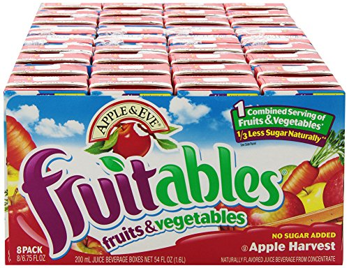 Apple & Eve Fruitables, Apple Harvest, 8 Count (Pack Of 5)