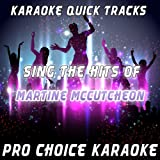 Karaoke Quick Tracks - Sing the Hits of Martine McCutcheon (Karaoke Version) (Originally Performed By Martine McCutcheon)