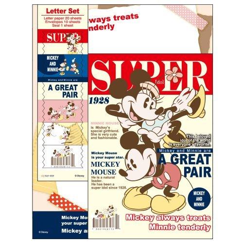Sunstar Disney Stationary letterSet DC LMC M&M S2030853