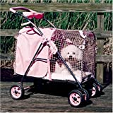 Kitty Walk 5th Ave Pet Stroller SUV-Pink