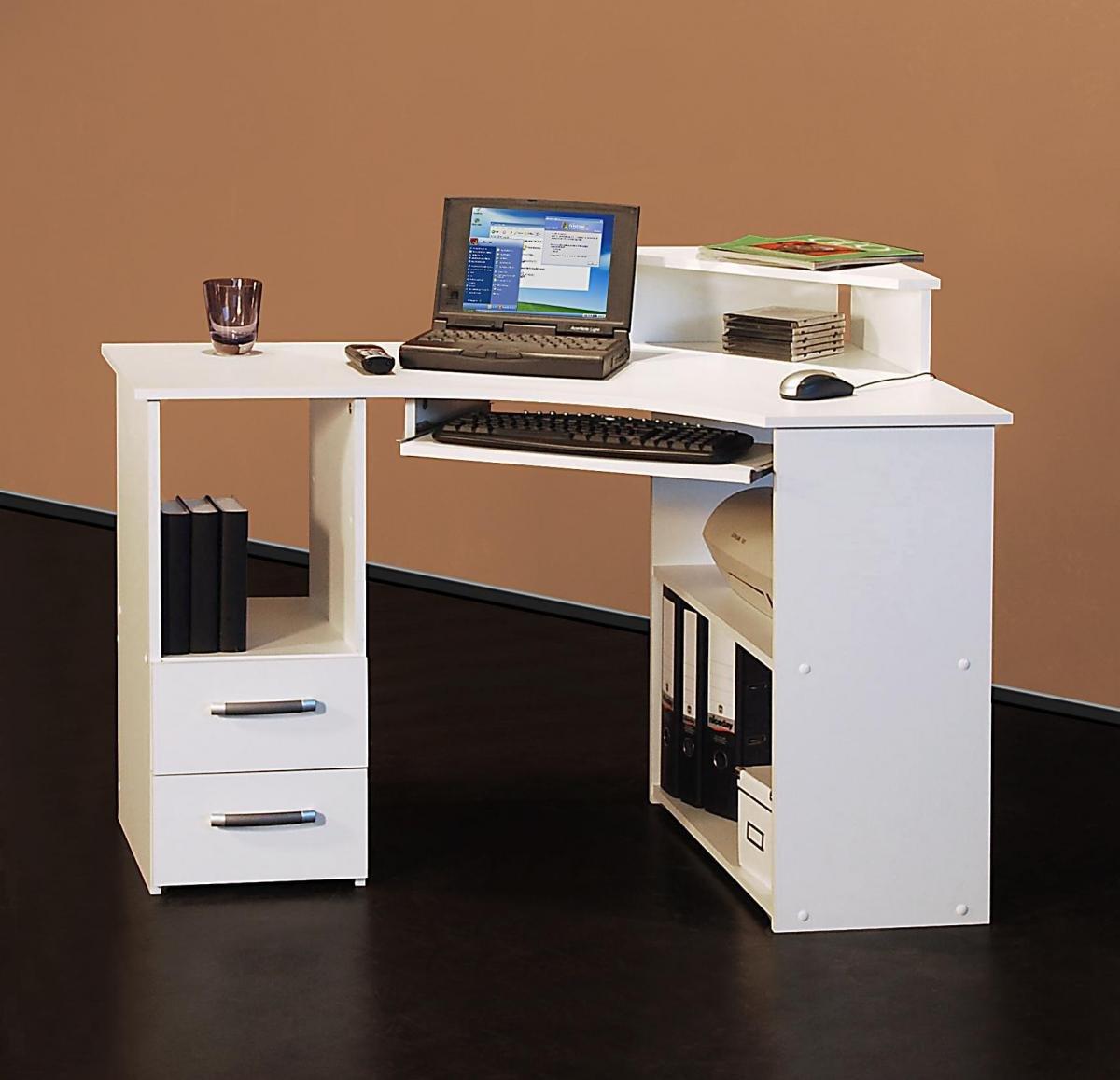 4505- 115cm - Eck-Schreibtisch - Computertisch,