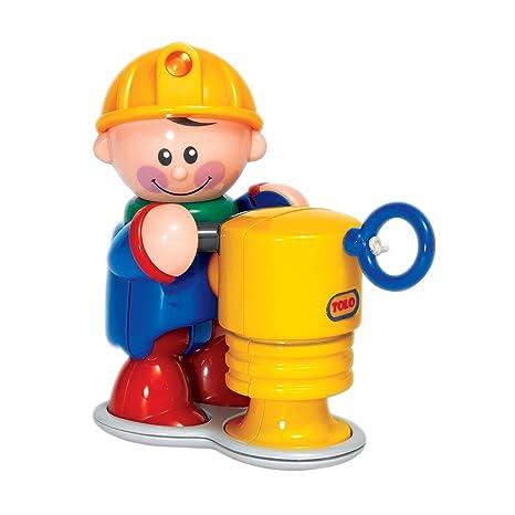 Tolo - 89991 - Figurine - Le Travailleur et sa Dameuse - Road Worker