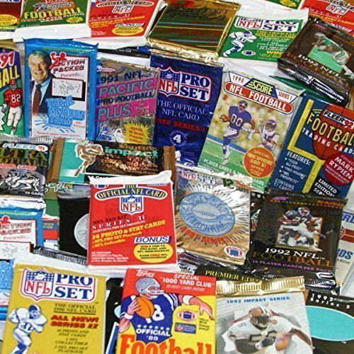 300-Unopened-Football-Cards-Collection-in-Factory-Sealed-Packs-of-Vintage-NFL-Football-Cards-From-the-Late-80s-and-Early-90s-Look-for-Hall-of-famers-Such-As-Dan-Marino-Troy-Aikman-Joe-Montana-Jim-Kell