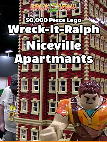 50,000 Piece LEGO Wreck-It Ralph Niceville Apartments MOC