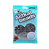 Artkal Midi Beads Gray Scale Color 1000 Count Pixel Fuse Beads DIY Educational Toys (S89) (Color: S89)