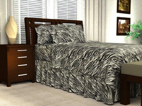 Twin Size Zebra Bedding front-1037674
