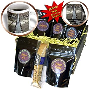 cgb_90125_1 Danita Delimont - Bridges - Idaho, Smiths Ferry, Footbridge on Payette River - US13 PSO0003 - Paul Souders - Coffee Gift Baskets - Coffee Gift Basket