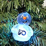 Philadelphia Flyers 2012 Light Up Snowman Ornament at Amazon.com