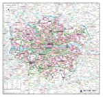Greater London County Planning Map