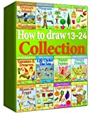 How to Draw Collection 13-24 (Over 350 Pages) (How to Draw Collections)