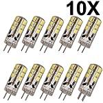 ELINKUME 10x G4 LED 3Watt base de pin...