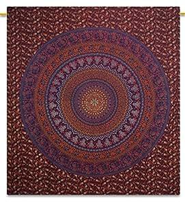 stranddecke indische mandala wandteppich bettlaken hippie. Black Bedroom Furniture Sets. Home Design Ideas