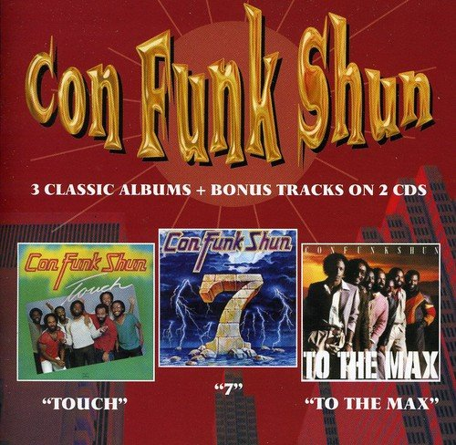 Con Funk Shun - Touch / Seven / To The Max - Zortam Music