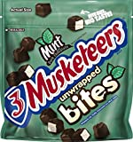 3 Musketeers Mint Bites Dark Chocolate Candy, 6 Ounce Pouch