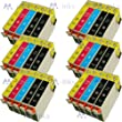 AA+inks Compatible Ink Cartridge Replace to Epson 12x T1281 6x T1282/3/4 T1285 for epson stylus S22 SX125 SX130 SX230 SX235W SX420W SX425W etc.(30ink)