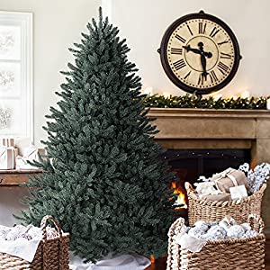 7.5' Balsam Hill Blue Spruce Artificial Christmas Tree - Unlit