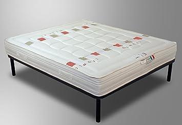 7 matelas en latex et fibre fibre de coco orthop dique h23 cm 80x190 - Matelas latex 80x190 ...