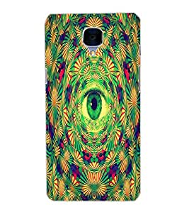 ONE PLUS THREE EYE Back Cover by PRINTSWAG